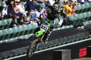 Remember Josh Hansen? Well, he went out on a Pro Circuit Kawasaki KX450F and won the X Games Super X gold for the second year in a row.