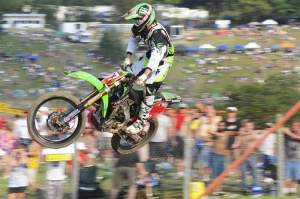 Christophe Pourcel dominated the Unadilla National with a 1-1 performance.