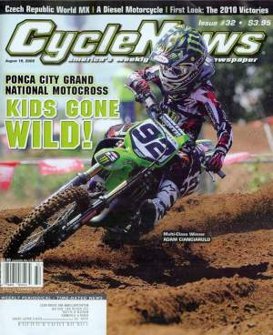 Yes, Adam Cianciarulo's last name does in fact fit on a magazine cover.