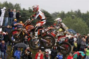 Rui Goncalves was fourth overall in MX2.