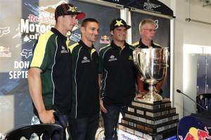Team Australia will be a repeat in 2009.