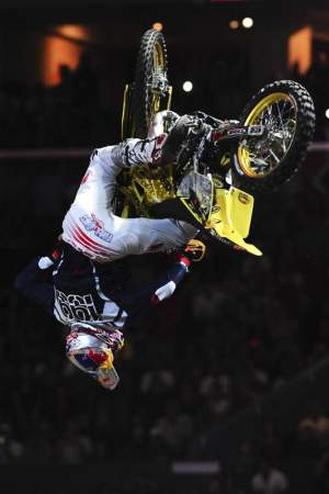 Travis Pastrana's rodeo 720 (on an RM125) was impressive, but...