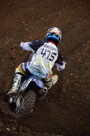 Kyle Regal surprised us by switching from a Honda to a Valli Motorsports Yamaha at Unadilla.