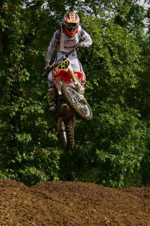 Tomac has a great personal trainer in his father, John.