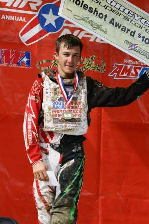 Eli Tomac got perfect scores in Tennesee.
