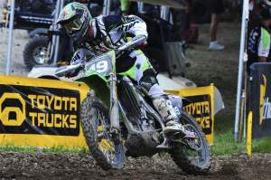 Jake Weimer had a strong 3-3 ride at 'Dilla.