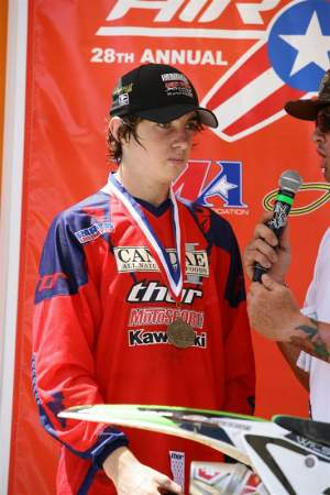 Dean Wilson won 5 of his 6 motos last week.