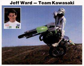 Jeff Ward was the centerpiece of Kawasaki's racing efforts for over a decade.