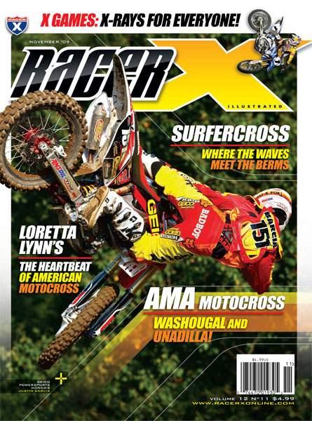The November 2009 Issue - Racer X Illustrated Motocross Magazine