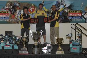 Suzuki held an awards function for their many 2009 champions.