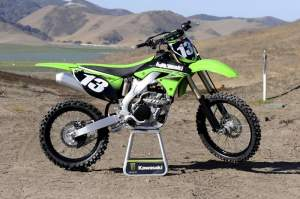 The 2010 Kawasaki KX250F