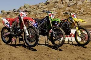 Team USA's bikes