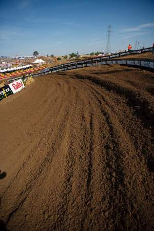 The normally slick and hard Hangtown track had some of the best dirt riders had ever seen.