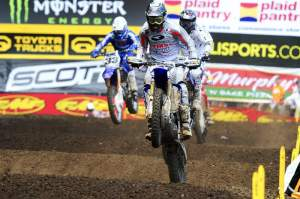Outdoors, Albertson switched to the Valli Motorsports Yamaha team and rode a 450.