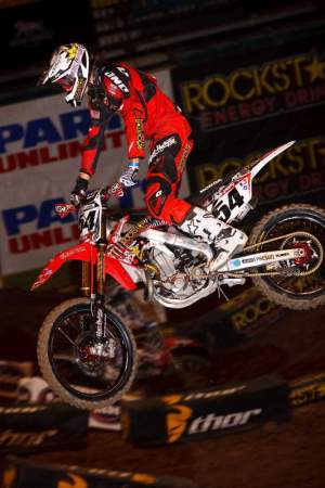Matt Boni was the top privateer last year, and returns to the squad in 2010.