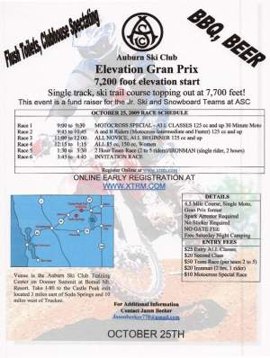 Race the Elevation Grand Prix Sunday at the Auburn Ski Club