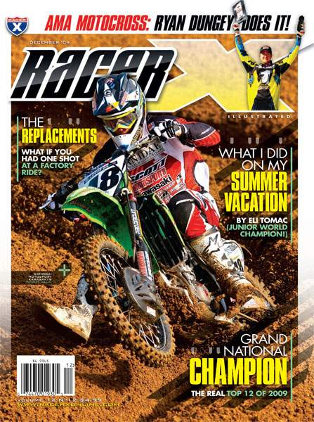 The December 2009 Issue - Racer X Illustrated Motocross Magazine