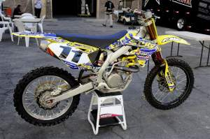 This is the bike Ezra Lusk will make his return to racing aboard.