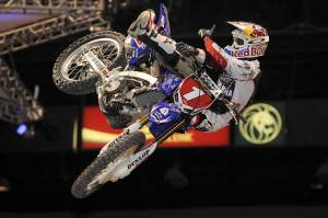 James Stewart led every lap of the main event on night one.