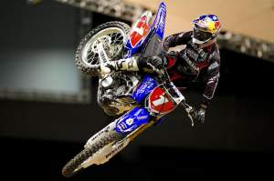 James Stewart will be looking for his first win on the new Yamaha 450.