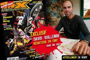 This month DV grabbed a spot on the cover of Moto Verte.