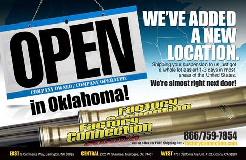 Factory Connection Now Open in Oklahoma
