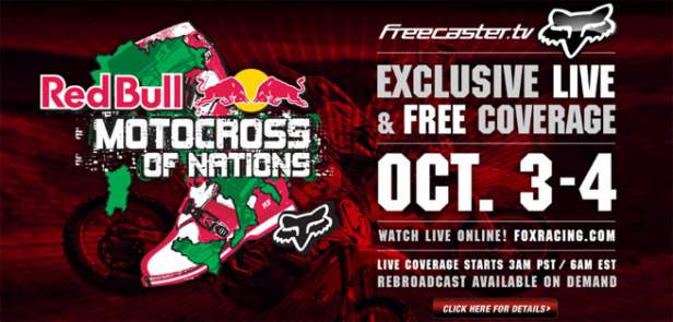 Watch the Motocross of Nations at Foxracing.com