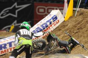 Hansen qualified on both nights, but otherwise had a rough weekend.