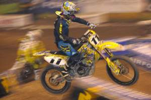 Ezra Lusk is not riding Bercy, but he is getting ramped up for a 2010 comeback.