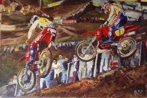 Robert Kinsey's Maggiora 1986 painting.
