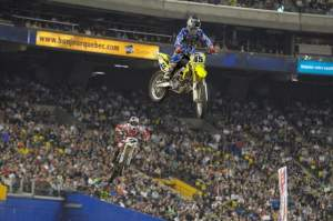 Jason Thomas took his new Suzuki to the top of the podium in Montreal.
