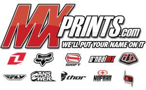 Enter TGI Freeday for a chance to win one of ten customized sets of gear that MXPrints.com will give away.