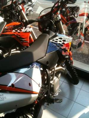 Is that the new KTM 350?!