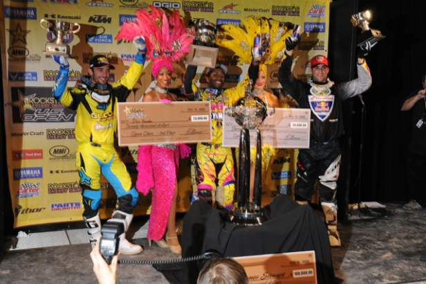 U.S. Open podium