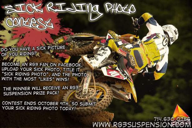 RG3 Sick Riding Photo Contest