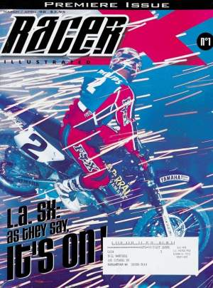 Jeremy McGrath was at the '97 Paris-Bercy Supercross, which landed him on the cover of the very first-ever Racer X magazine.
