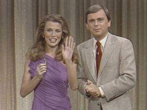 Oh, he just missed the Puerto Vallarta trip, Vanna. As a consolation prize he gets... a wave from Vanna White in 1978.