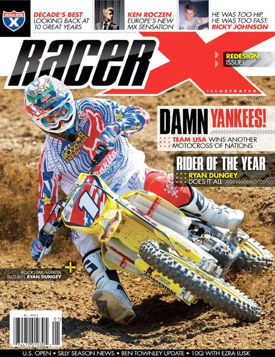 The January 2010 Issue - Racer X Illustrated Supercross Magazine
