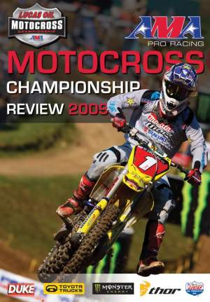 Pick up a copy of the official AMA Motocross Championship Review DVD.
