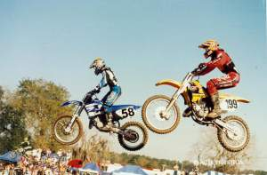 Justin Buckelew and Pastrana were close rivals for years.