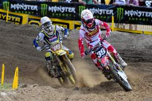 At Texas, he led eventual champion Ryan Dungey for quite some time.