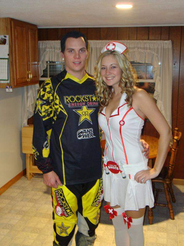 Chad Reed and Nurse (Vote at facebook.com/racerxonline)
