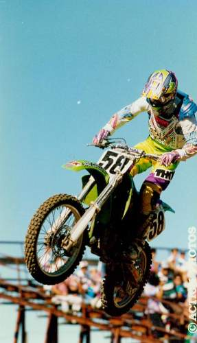 Once upon a time Brian Deegan was a top motocross racing prospect.