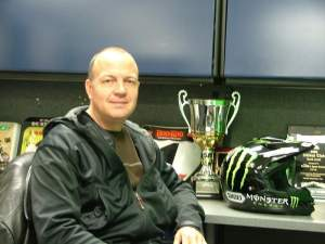 Eddie Babbitt's riders won Arenacross Championships in 2006 and 2007.