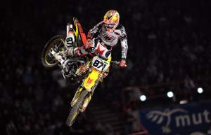 Fabien Izoid was a tick off of Musquin and Aranda but he was pretty good also. His Suzuki looked to be pretty trick.