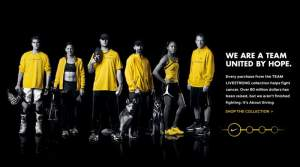 Ryan Dungey is a part of the new Livestrong campaign and is featured on Nike's homepage.