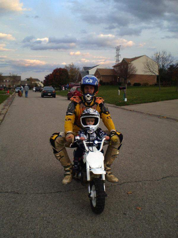 Moto Dad and Son (Vote at facebook.com/racerxonline)