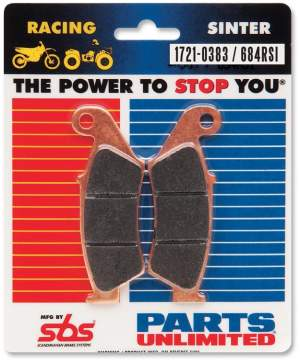 Parts Unlimited Brake Pads by SBS