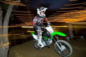 Andrew Silverstein on the new KLX110L