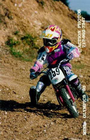 James Stewart on a Yamaha before 2009!